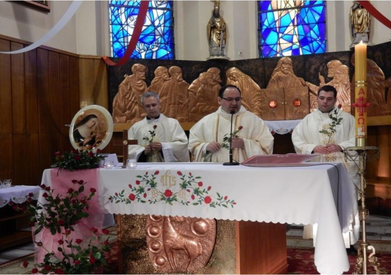 Nabożeństwo w dniu 22. kwietnia 2015