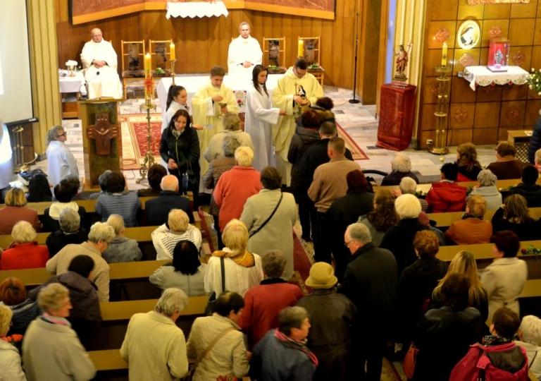 Nabożeństwo w dniu 22. kwietnia 2016