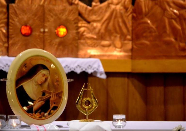 Nabożeństwo w dniu 22. listopada 2014