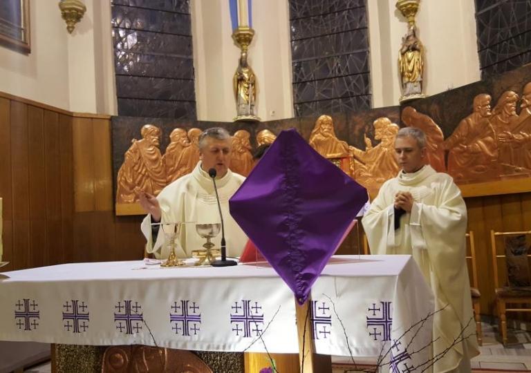 Nabożeństwo w dniu 22. marca 2016
