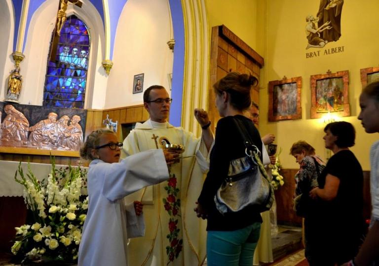 Nabożeństwo w dniu 22. sierpnia 2016